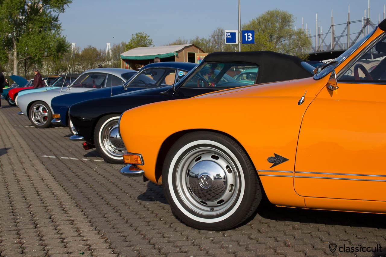 VW Karmann Ghia Line Up MKT 2013