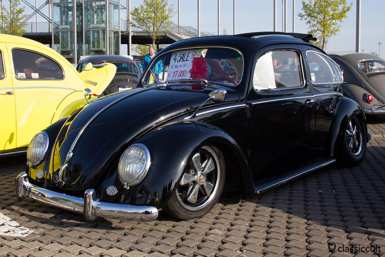 Faltdach VW Ovali Käfer für 17000 EUR ohne Fuchs Felgen