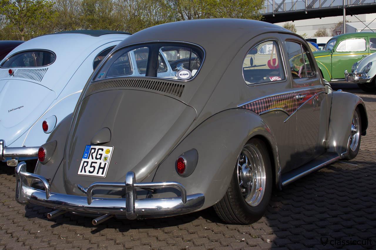 VW Käfer mit seltener Zierleiste
