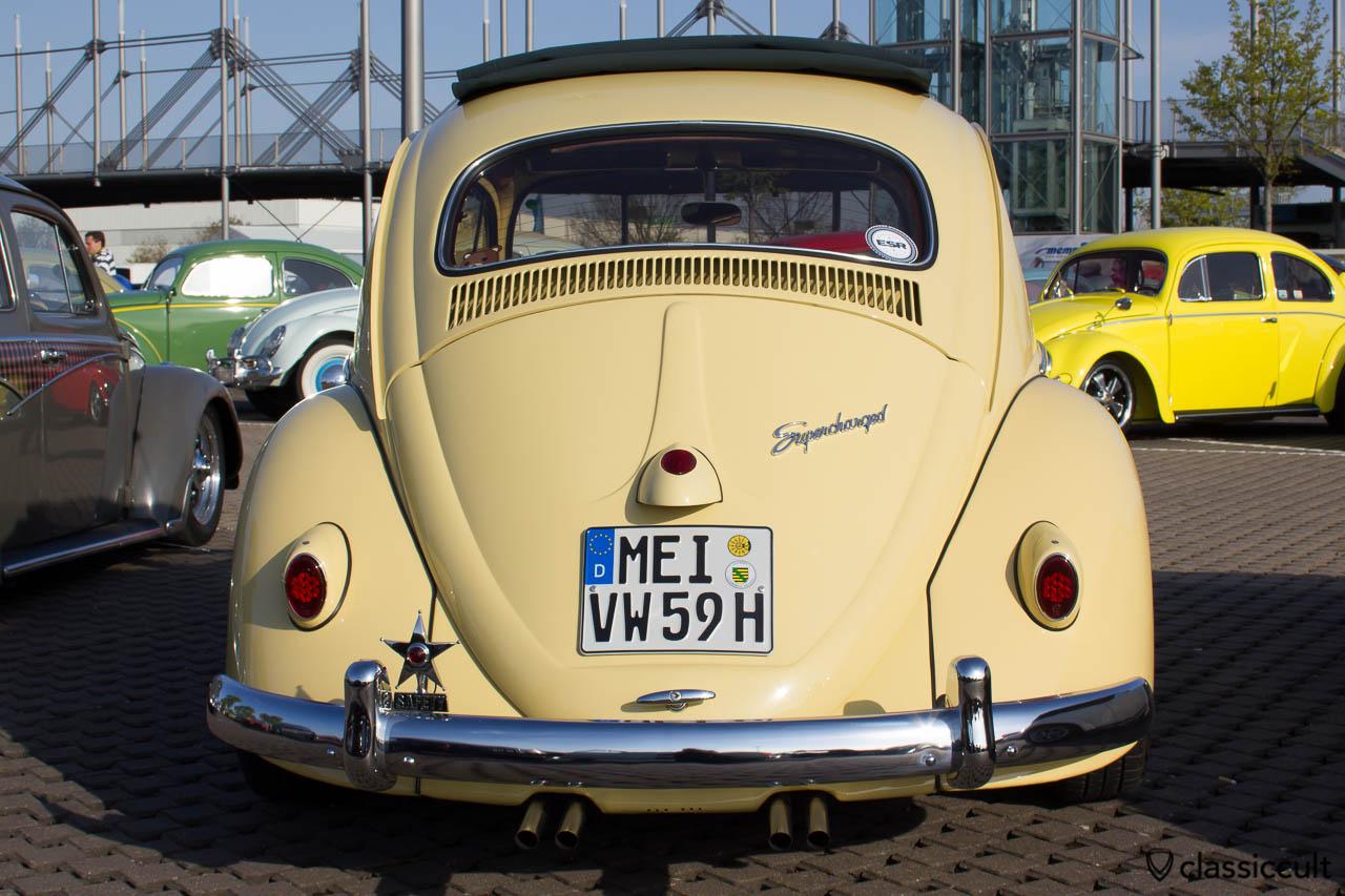 1959 VW Käfer Supercharged mit Safety Star und Bastel-Nase