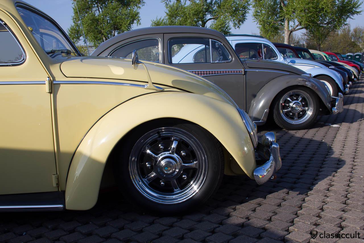 VW Käfer 1959 mit Sprint Star BBT Felgen und Albert Spiegel