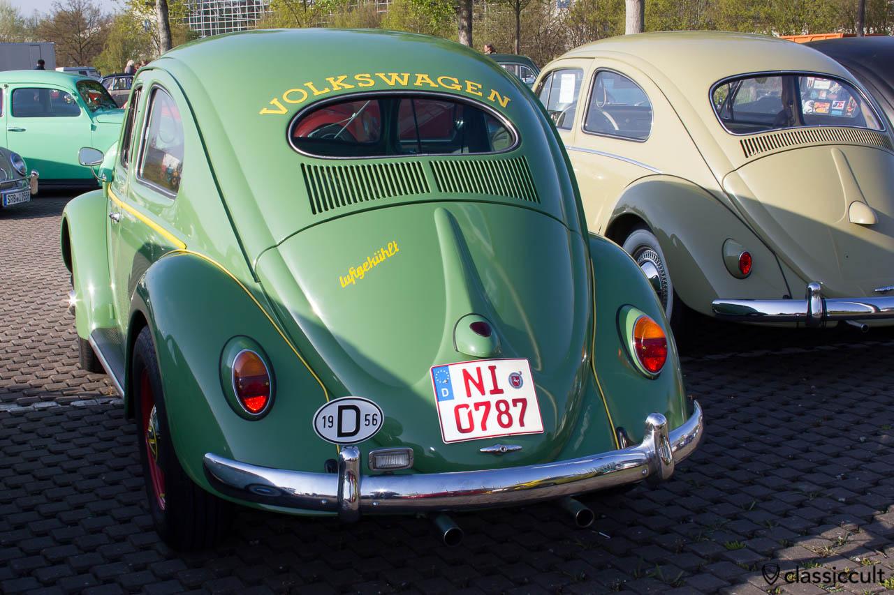 VW Ovali Käfer 1956