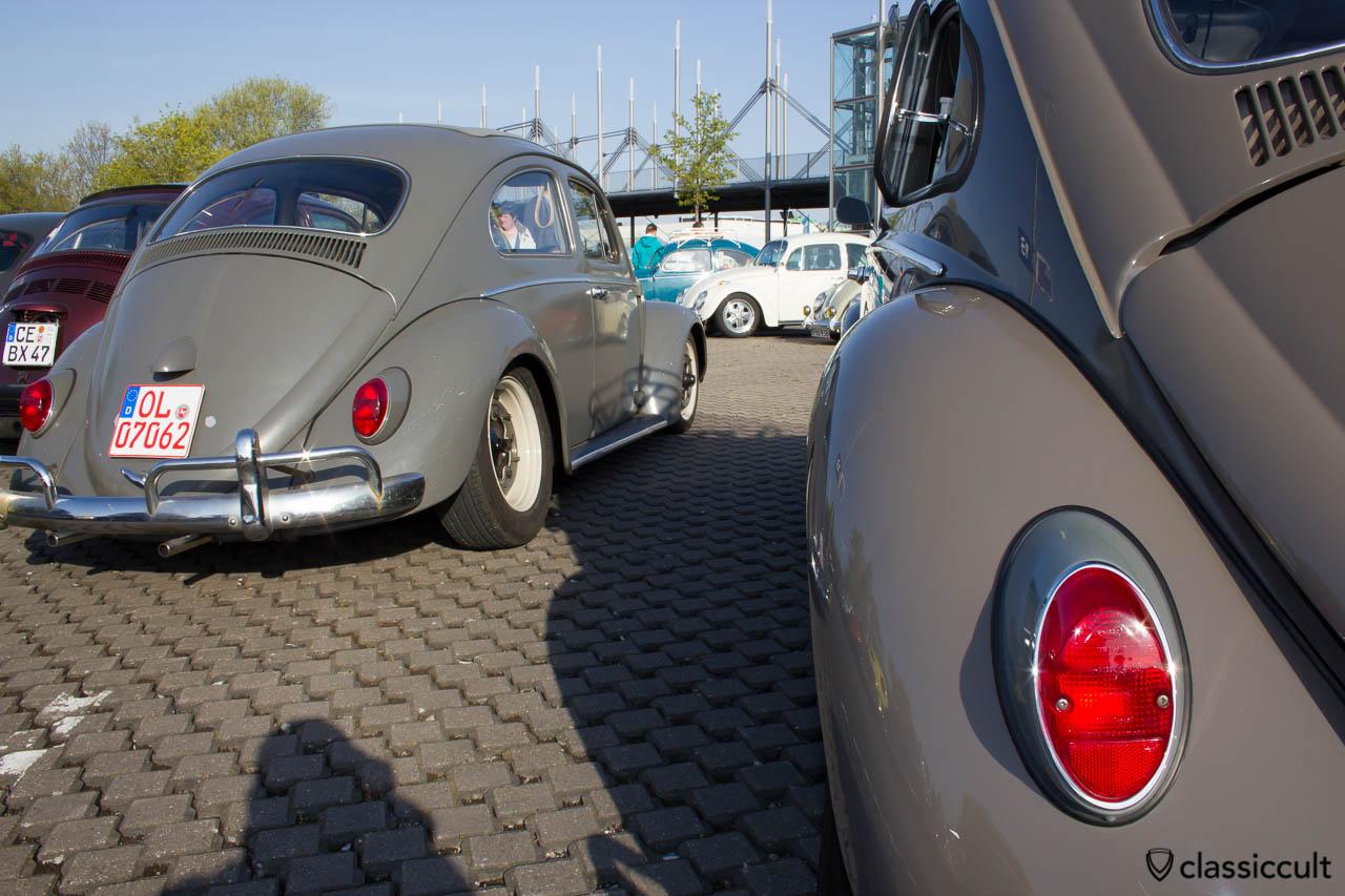 VW Käfer mit Ausstellfenster hinten