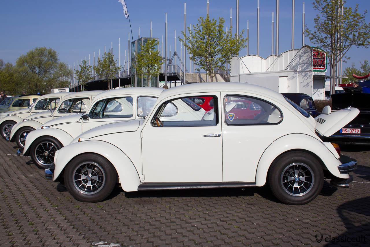 DFL - Der Fieser Luftkühlers VW Club Cal Look Käfer Line Up