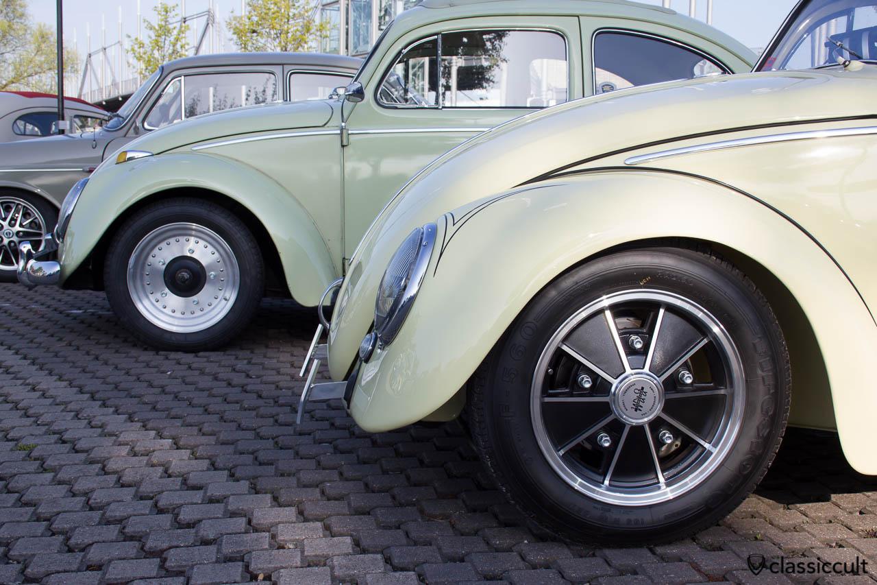 VW Käfer Cal Look mit EMPI Felgen