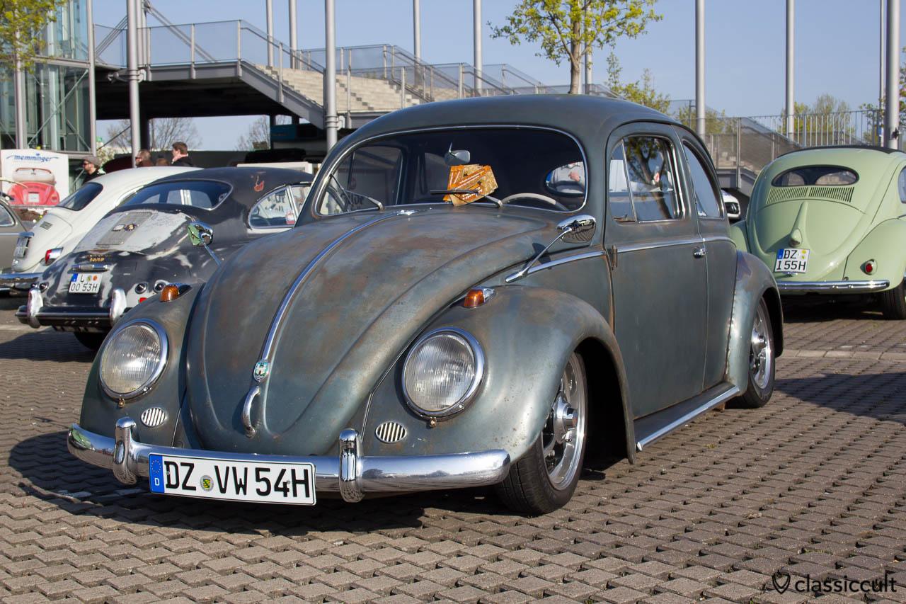 1954 Ovali Käfer mit original Patina