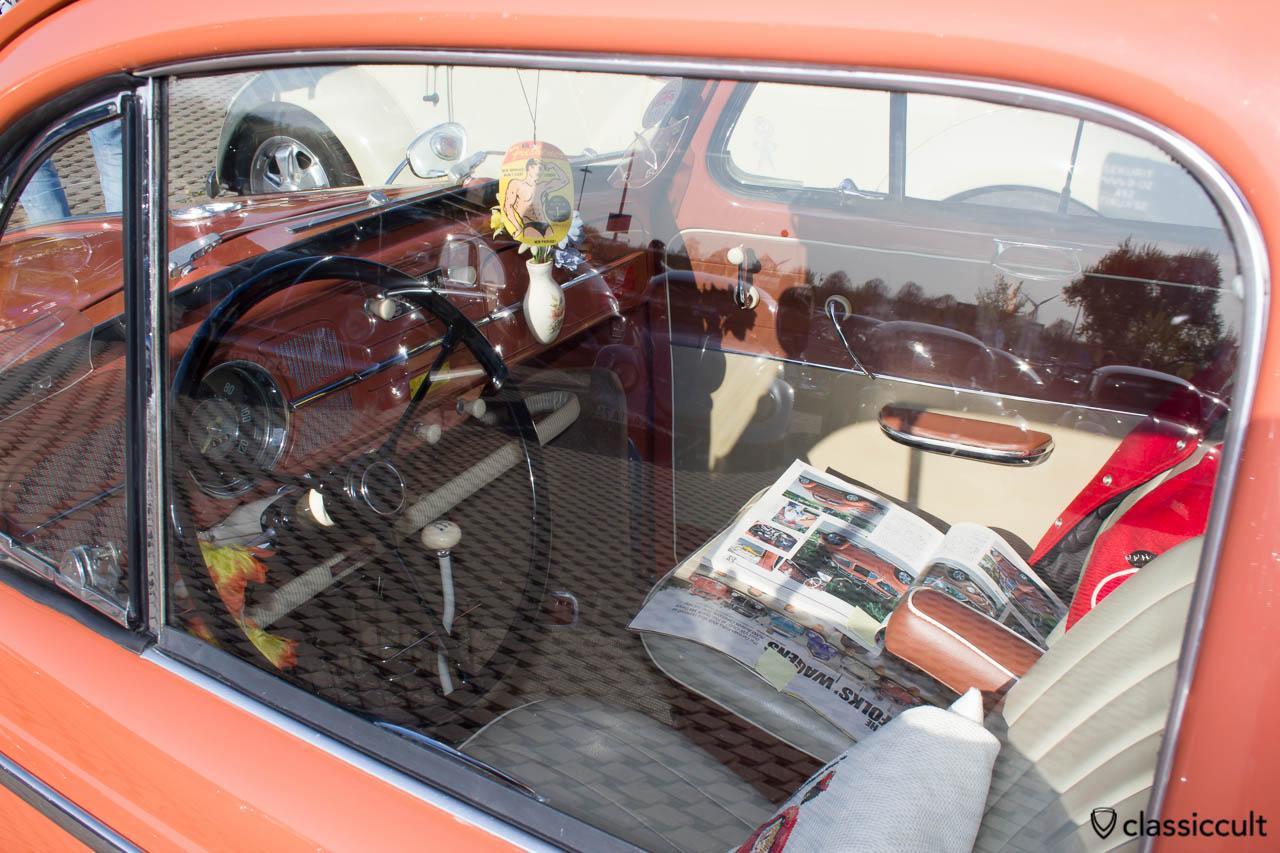 VW Käfer Zubehör Sitz Armlehne