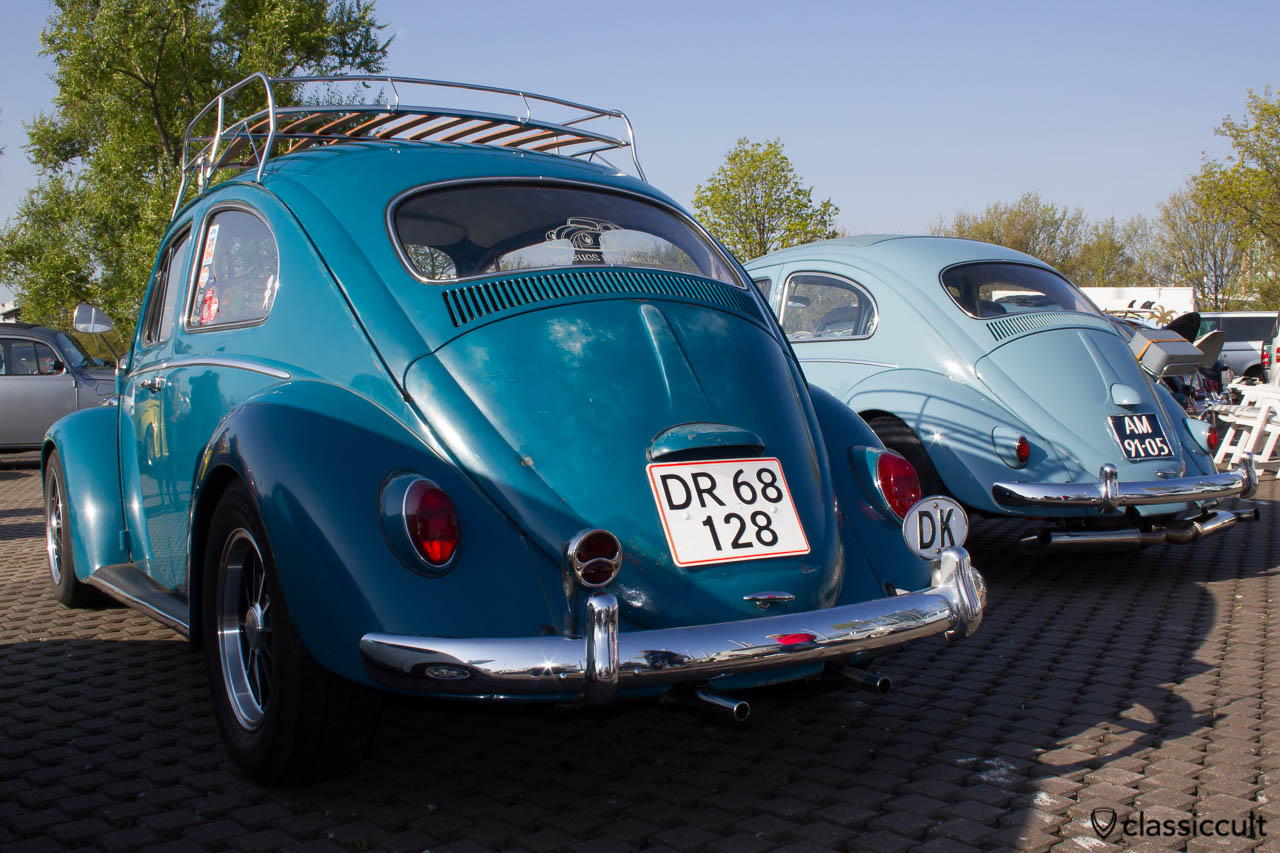 VW Käfer aus Dänemark vom VW Bugs Herning Club DK