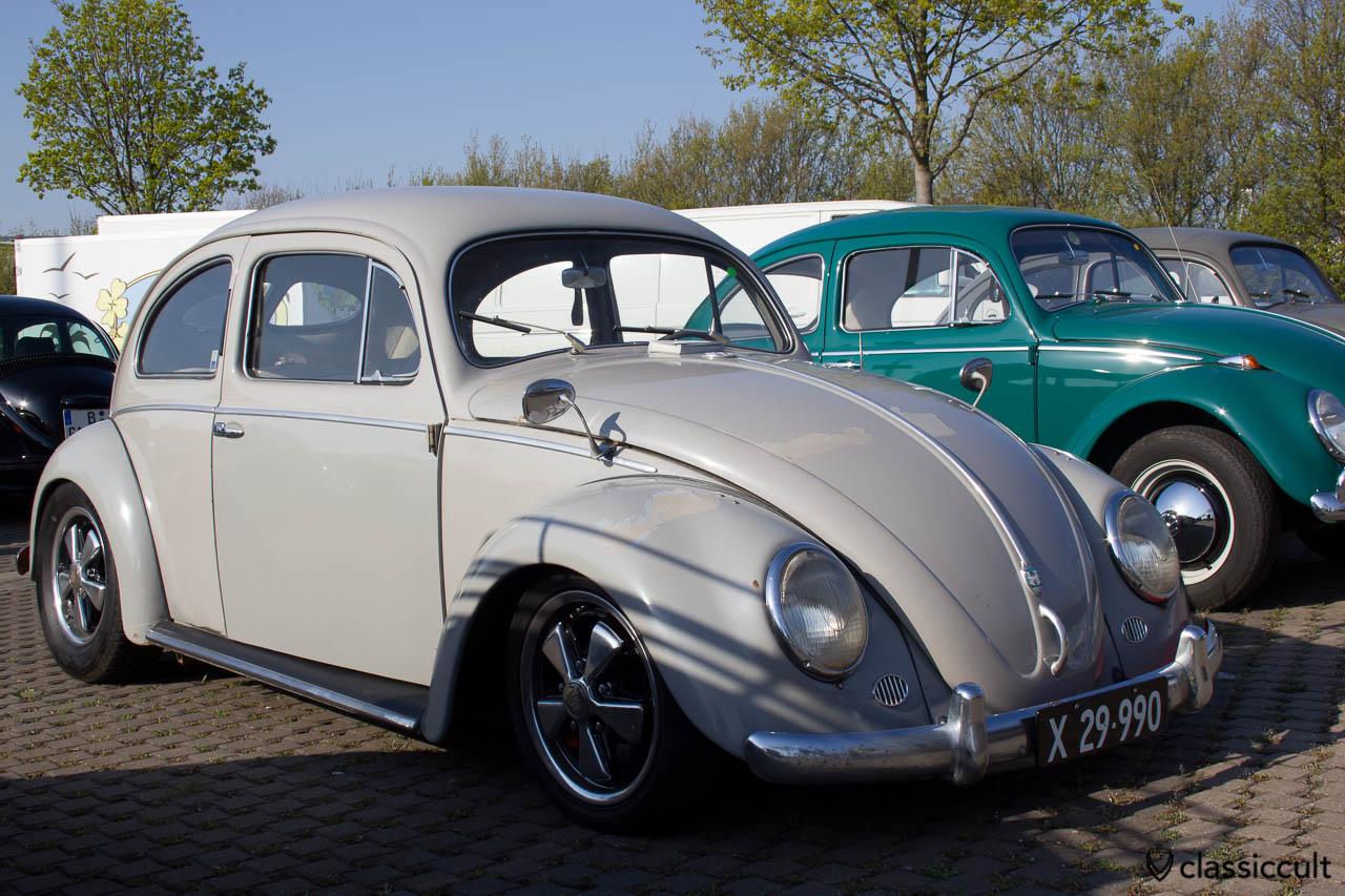 slammed VW Split Beetle