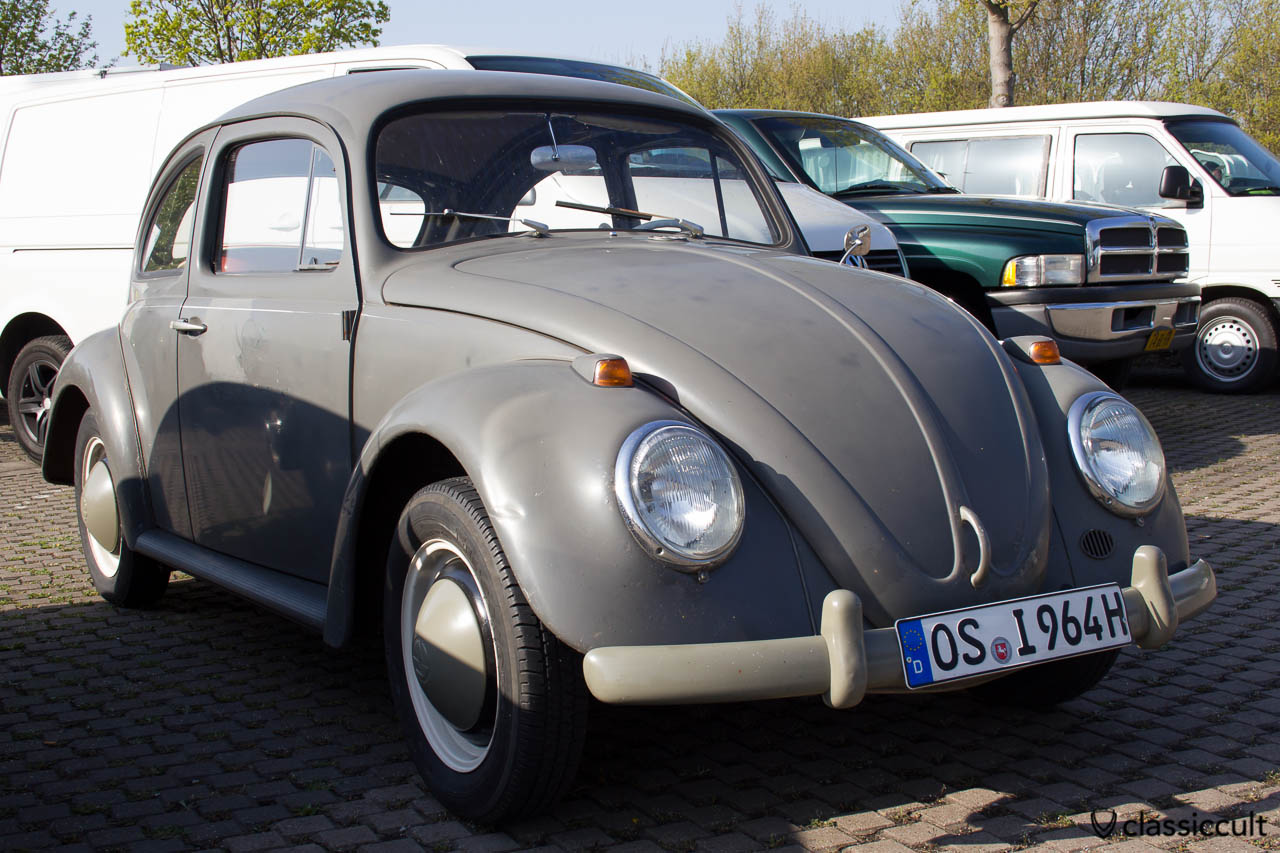 VW Käfer Standard 1964, original Fernmeldetechnik Postkäfer