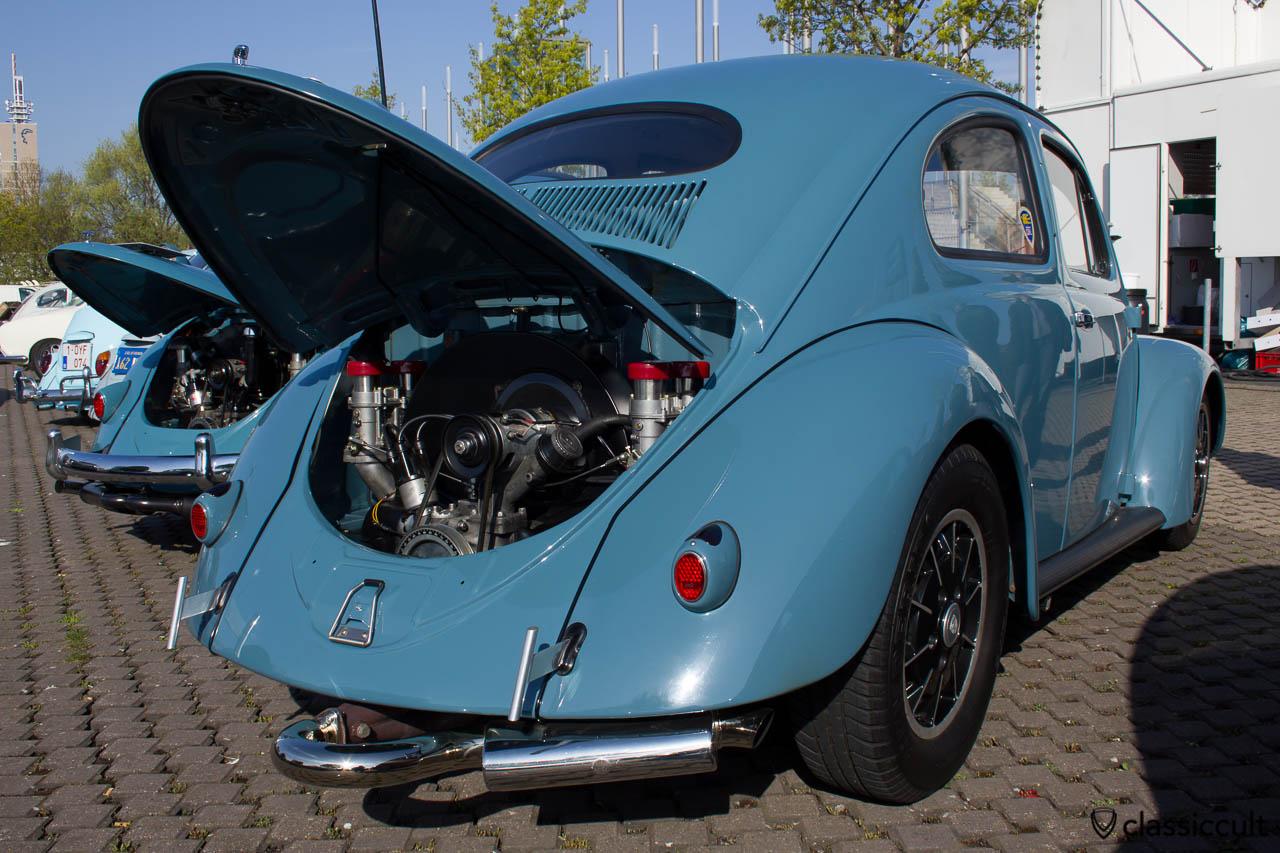 Ovali Cal Look Käfer mit Herzchen Rückleuchten