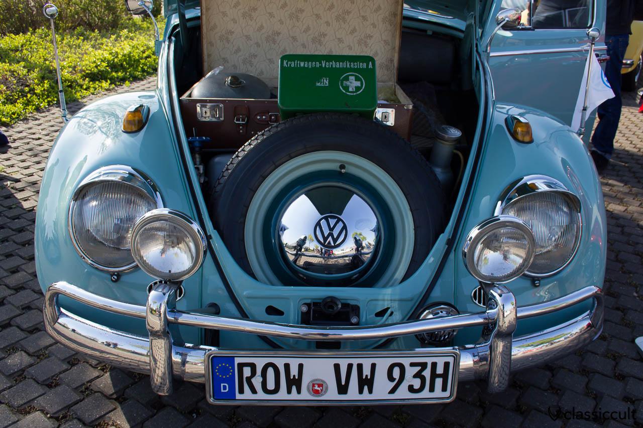 VW Käfer 1963 mit Fernscheinwerfer