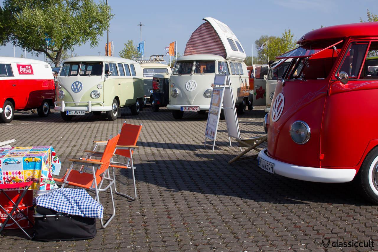 Split Bus Camping
