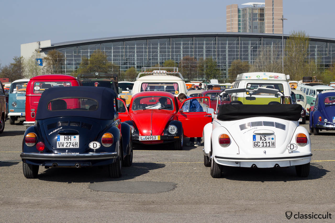 1974 VW 1303 und VW 1303 LS Cabriolet