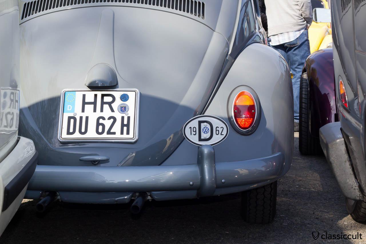 Standard Käfer 1962 Heck
