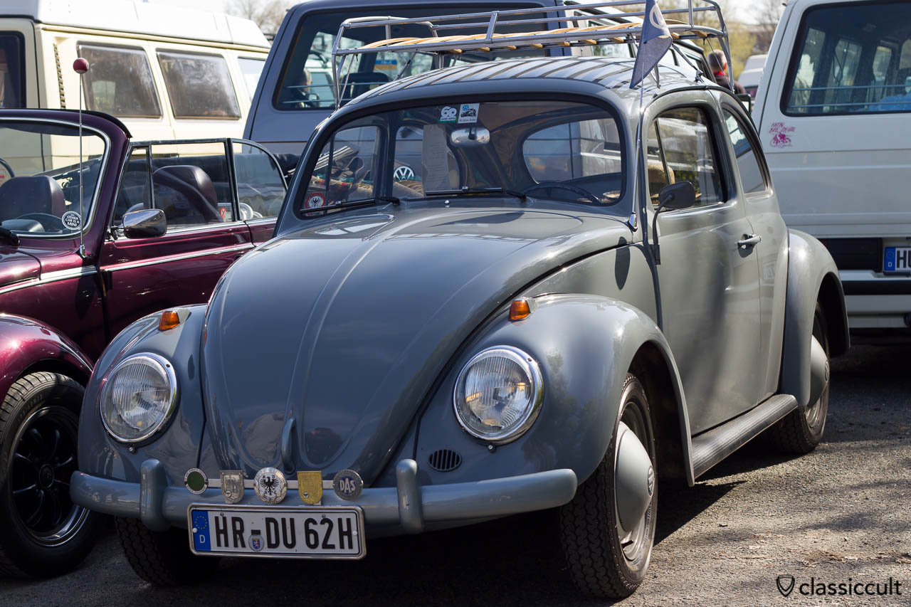 Standard Käfer 1962 von vorne