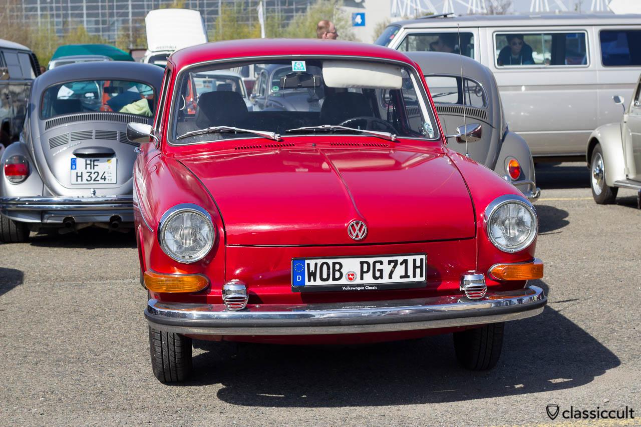 1971 Typ 3 mit Bosch Fanfaren
