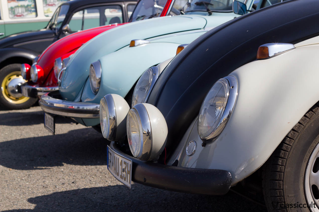 Cibie Nebelscheinwerfer am VW Käfer