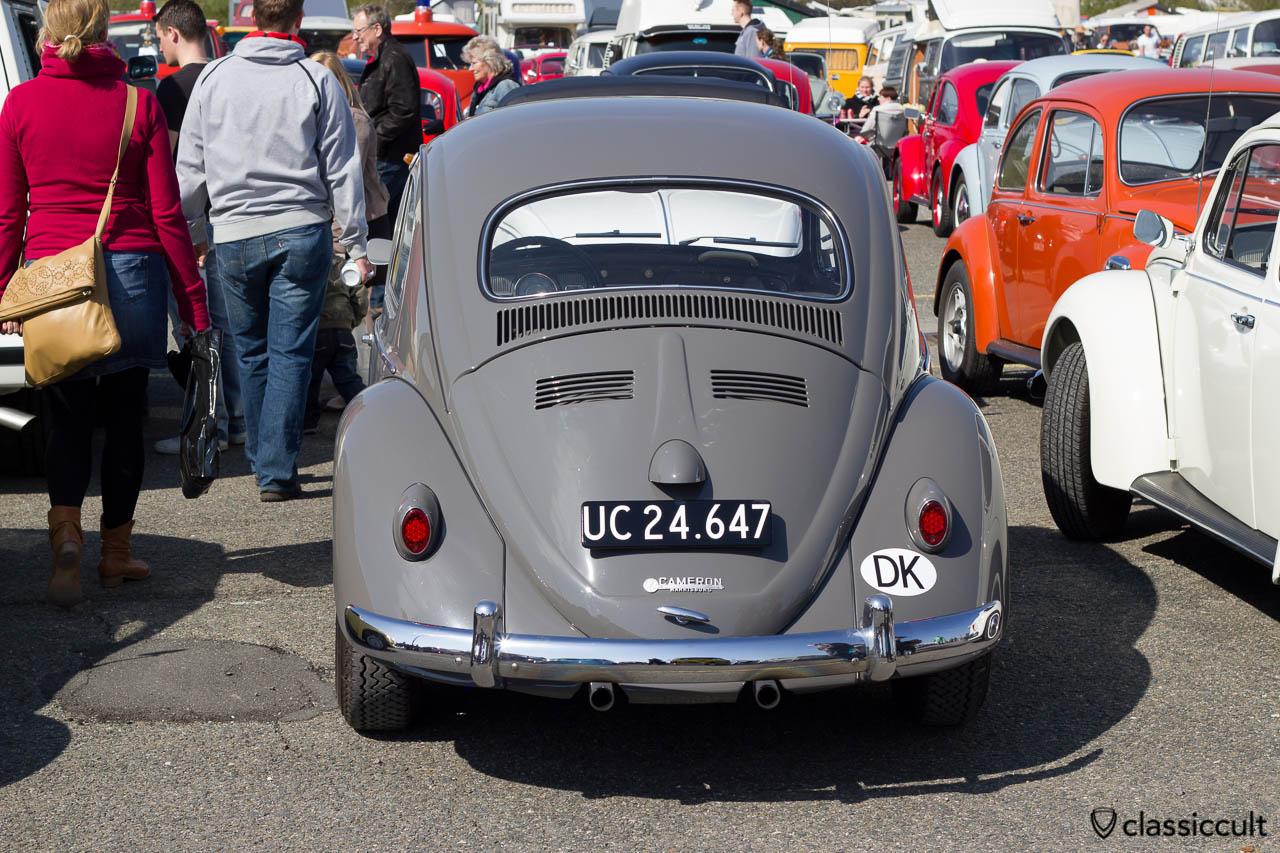 VW Käfer mit Sprint Star aus Dänemark