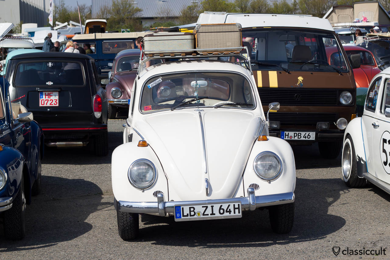 1964 VW Käfer in weiss