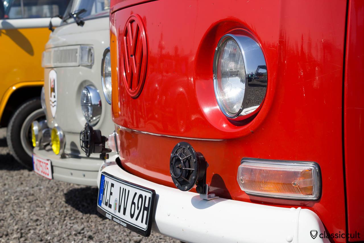 Bosch Fanfaren am 1969 VW Bus