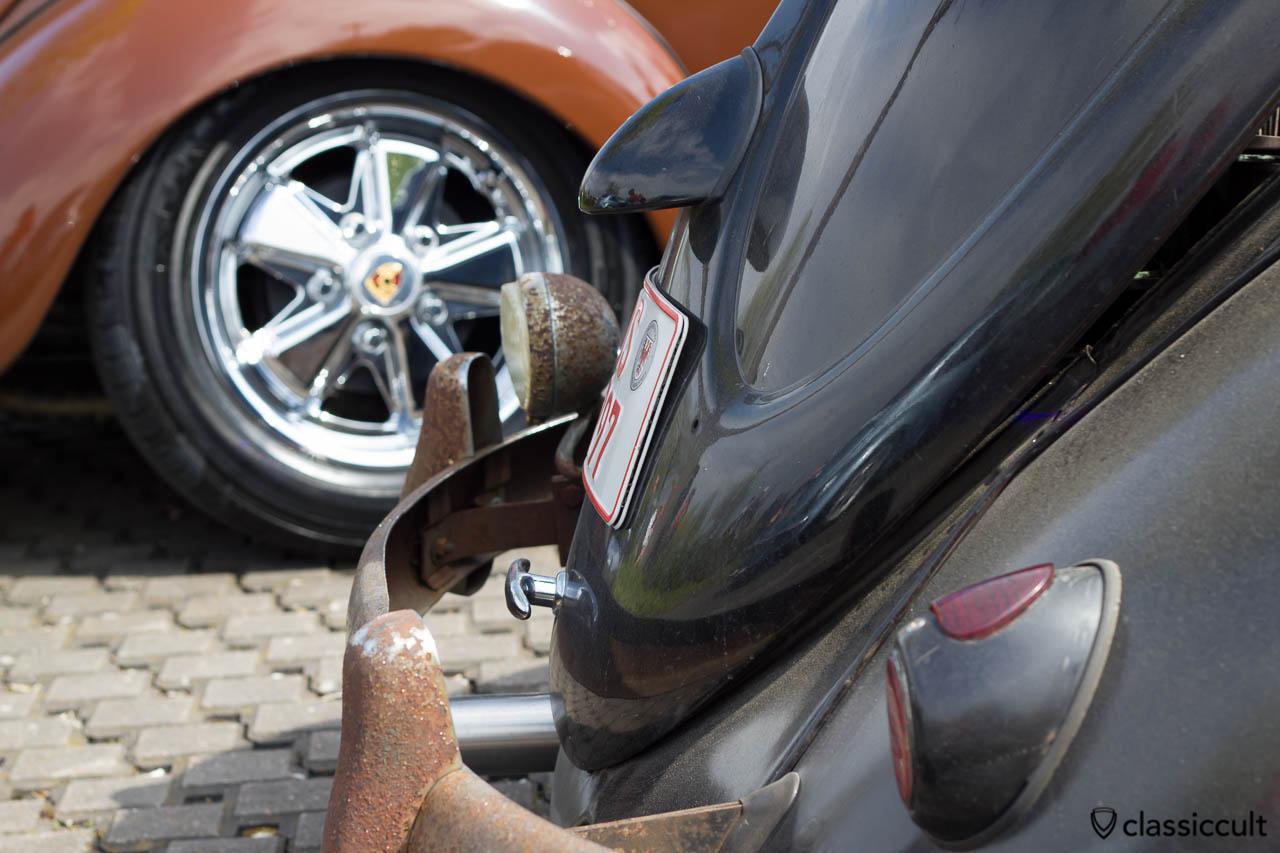 VW Käfer Herzchen Rückleuchten