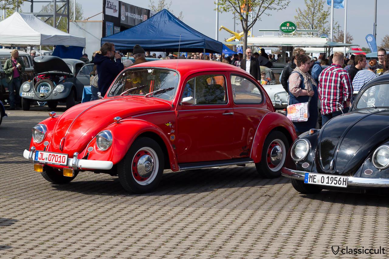 VW Käfer mit Zubehör-Blinker