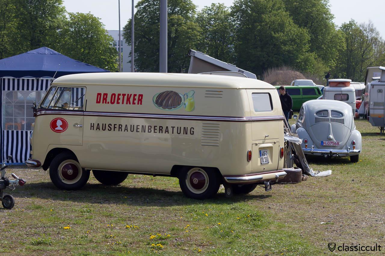 Dr Oetker Hausfrauenberatung T1 Bus