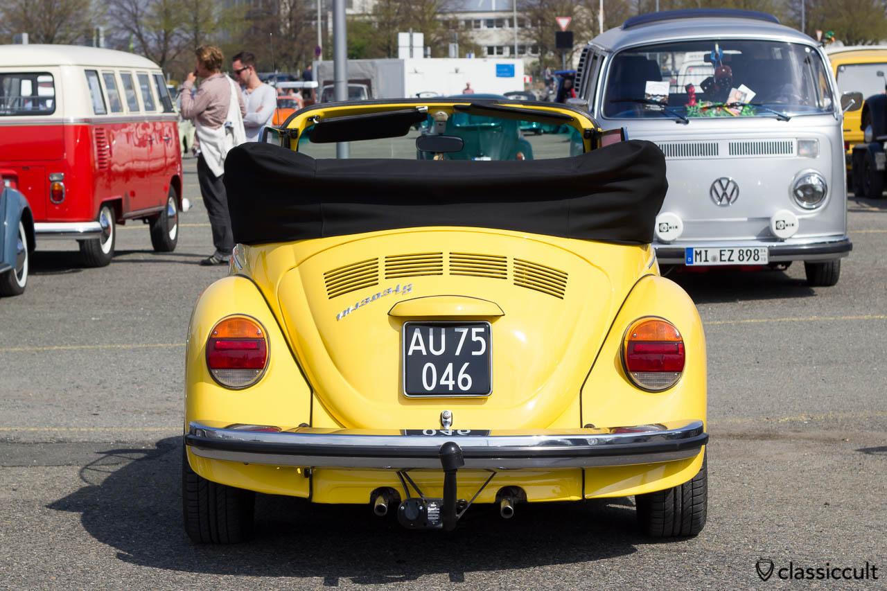 VW 1303 LS in gelb