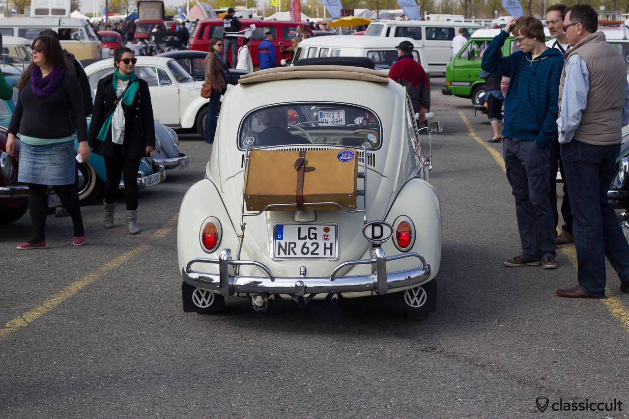 1962 VW Käfer Abreise um 15:31 Uhr MaiKäferTreffen 2013