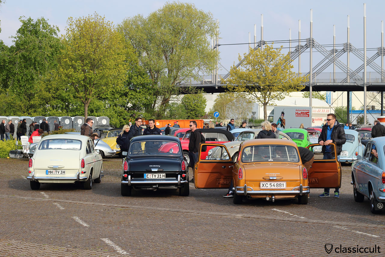 VW Type 3 1600 TL (fastback), 1600 L and 1500 (notchback)