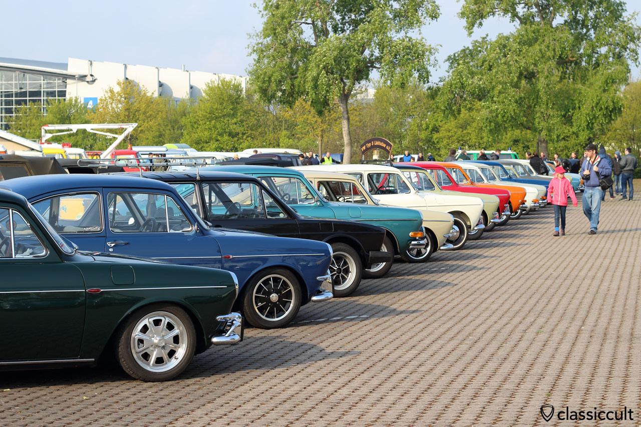 always amazing the VW Type 3 row