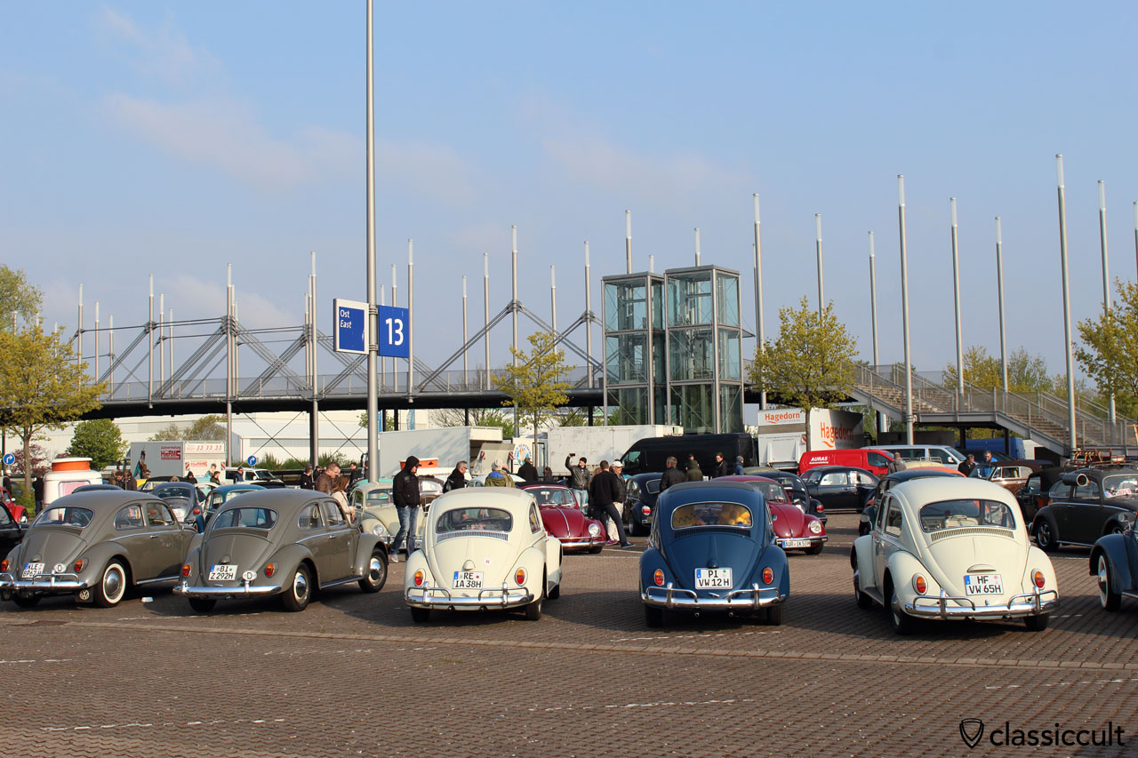 rare these days, original VW Beetles