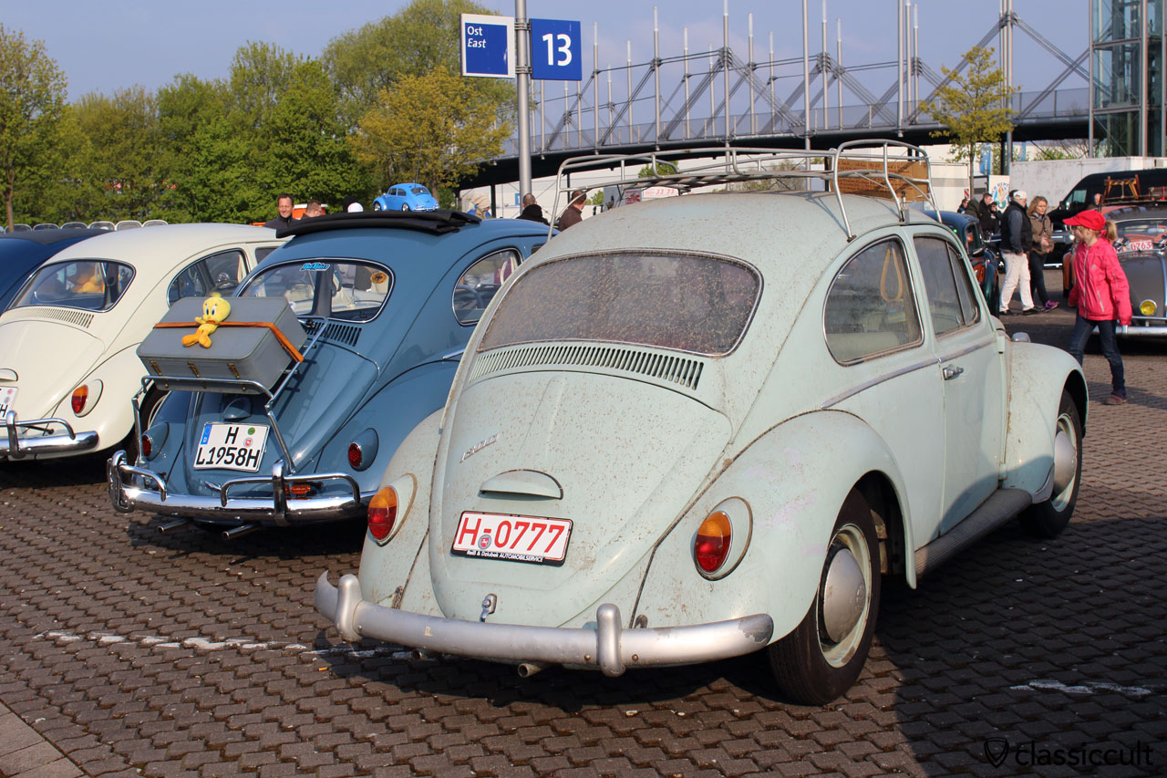 VW 1300 and patina growing