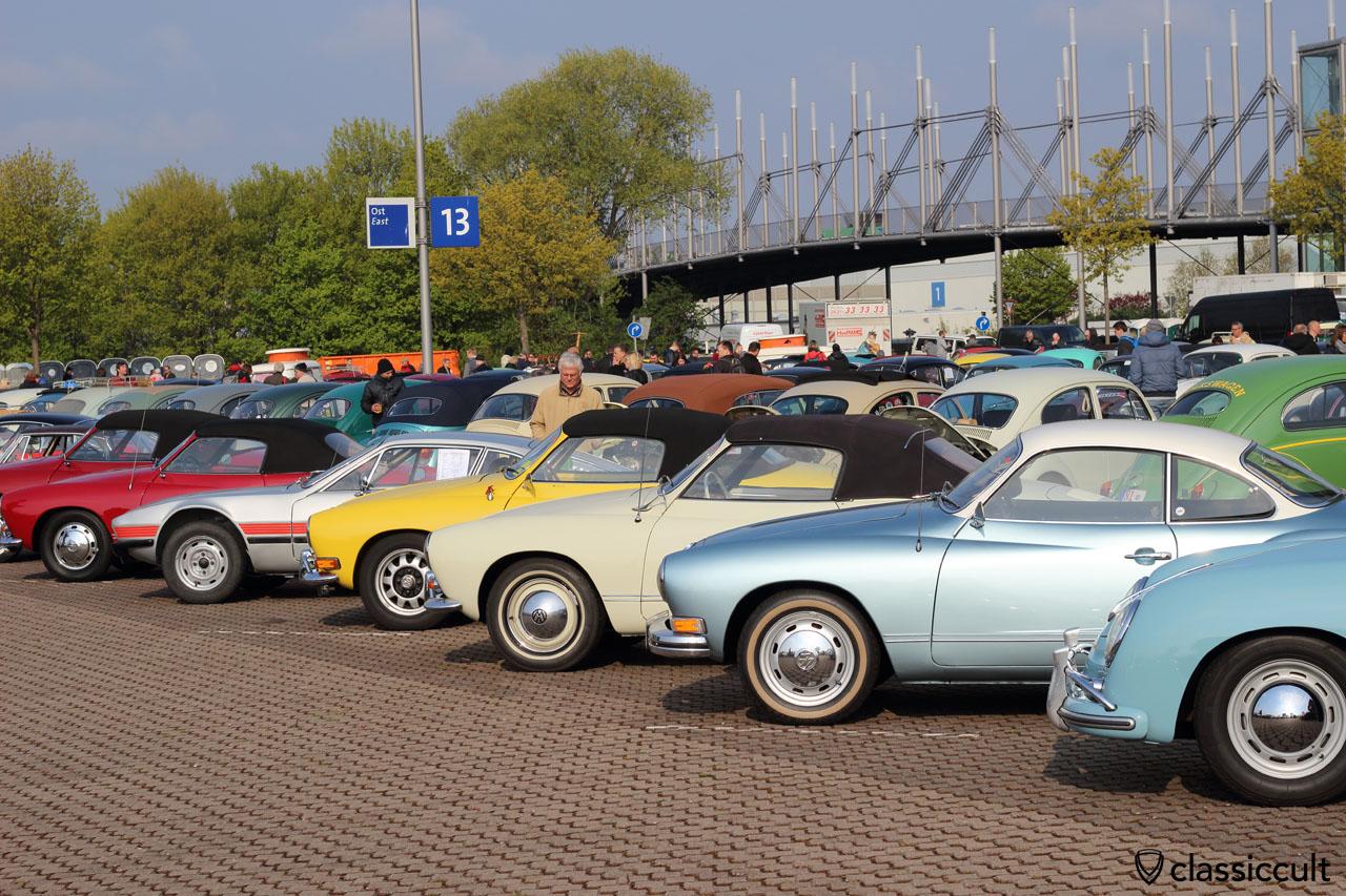 Porsche 356, Karmann-Ghia Typ 14, VW SP2