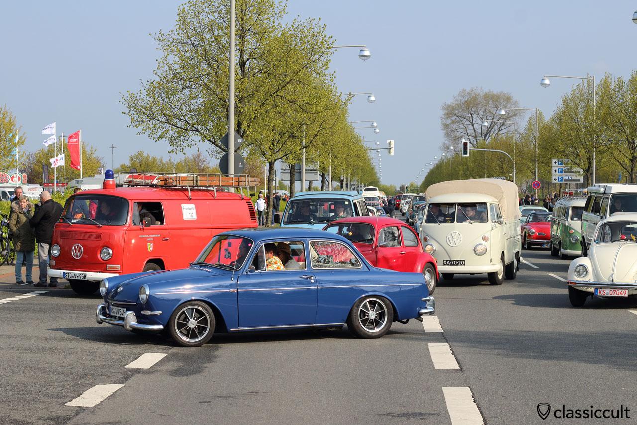 blue VW Type 3 Notch from Kassel (KS)
