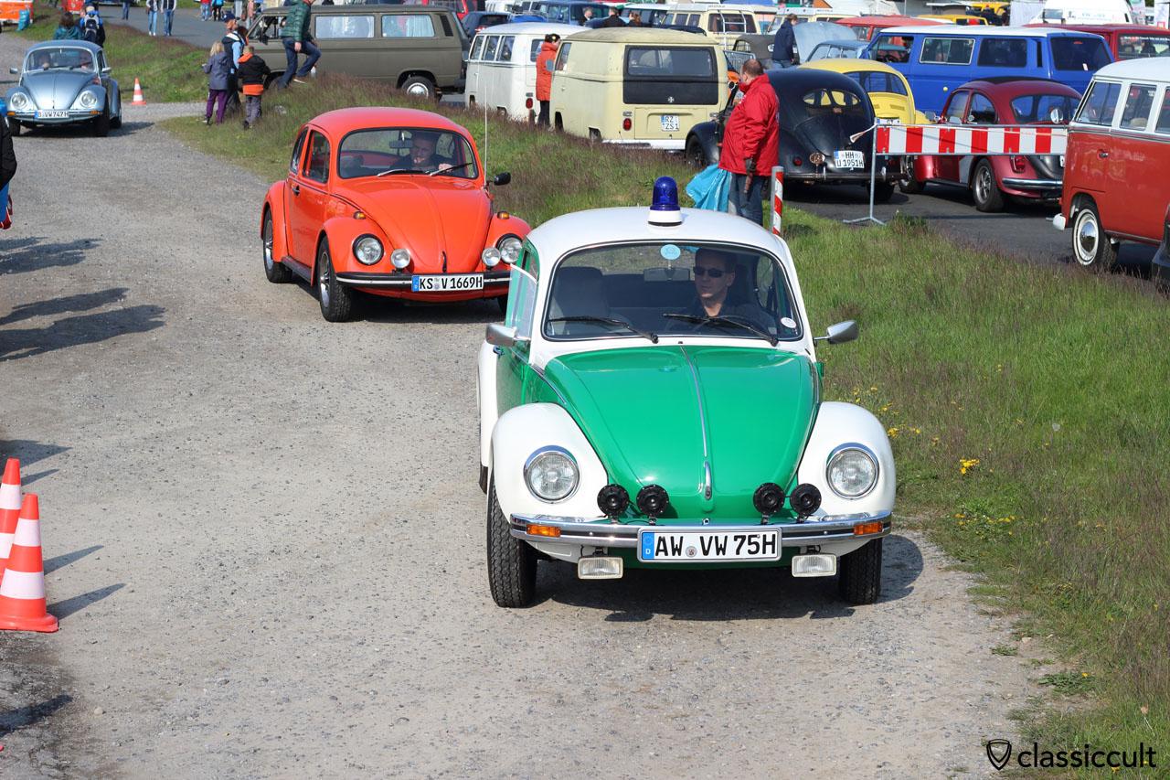 VW 1303 Police Beetle, Käfer, was sonst?