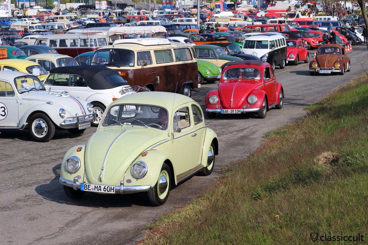 1960, 1953 and 1964 VW Beetle