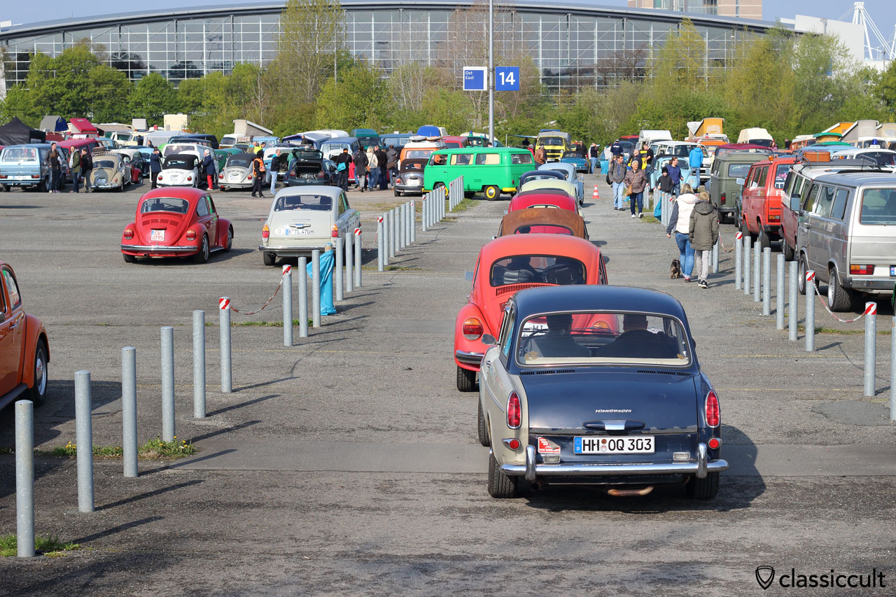 VW Type 3 Notchback from Hamburg (HH)
