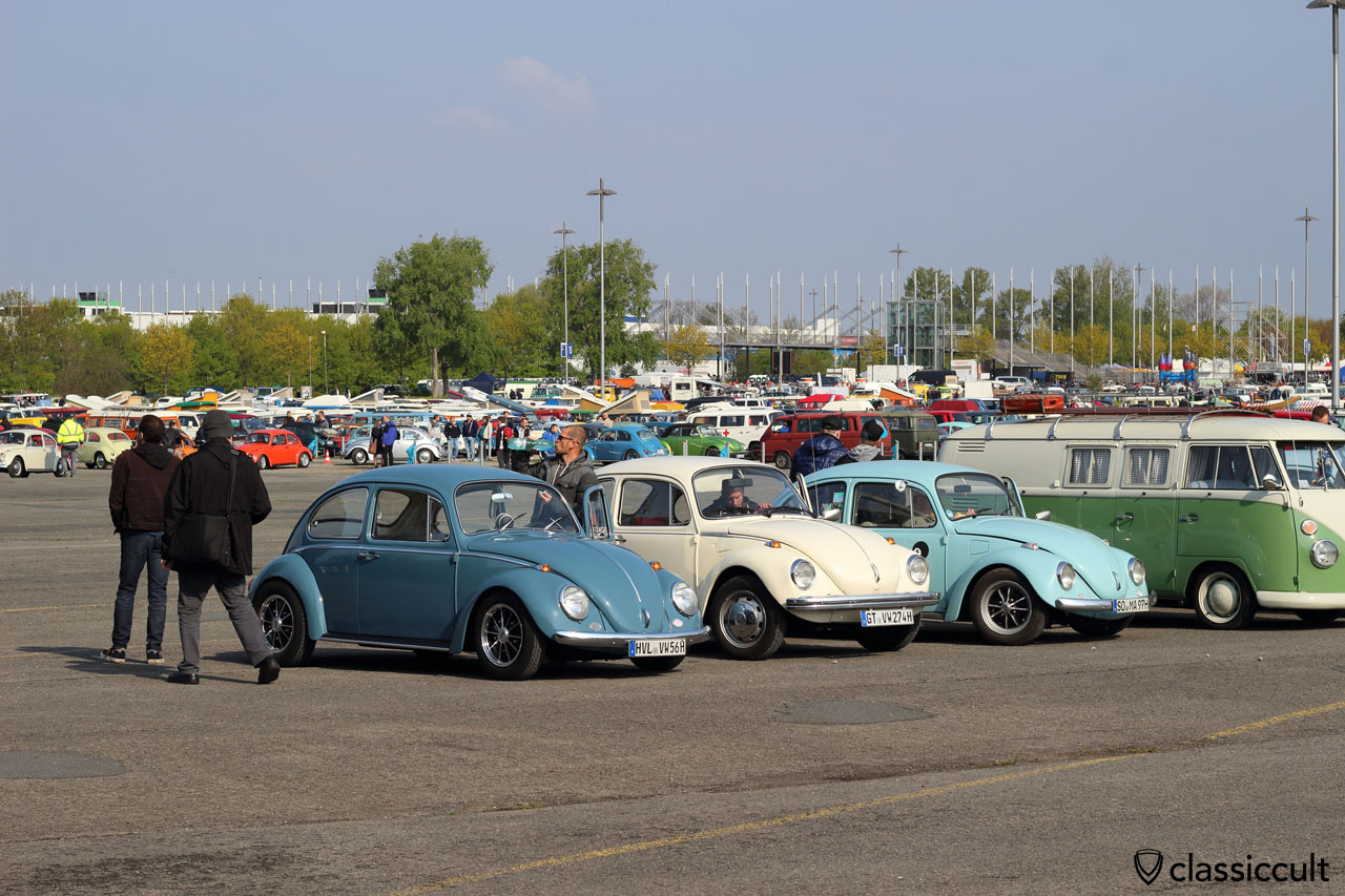 VW fans from Havelland (HVL) just arrived