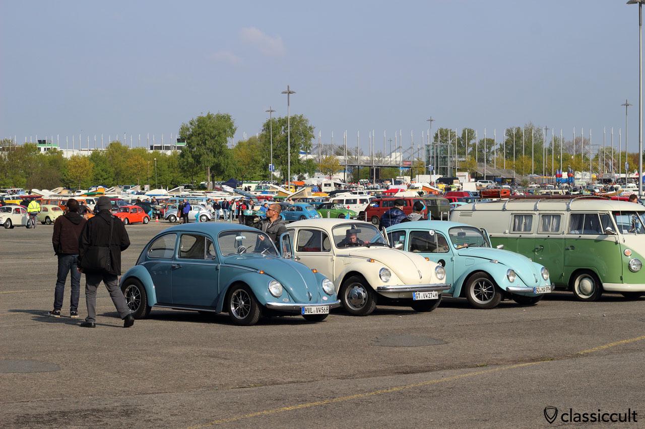VW fans from Havelland (HVL) just arrived