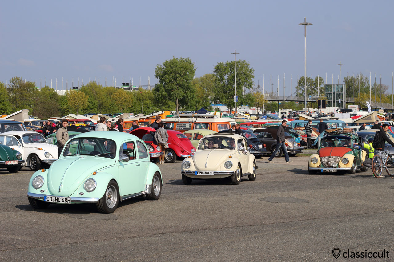 VW Beetle from Coburg (CO), Erbach (ERB) and Schaumburg in Stadthagen (SHG)