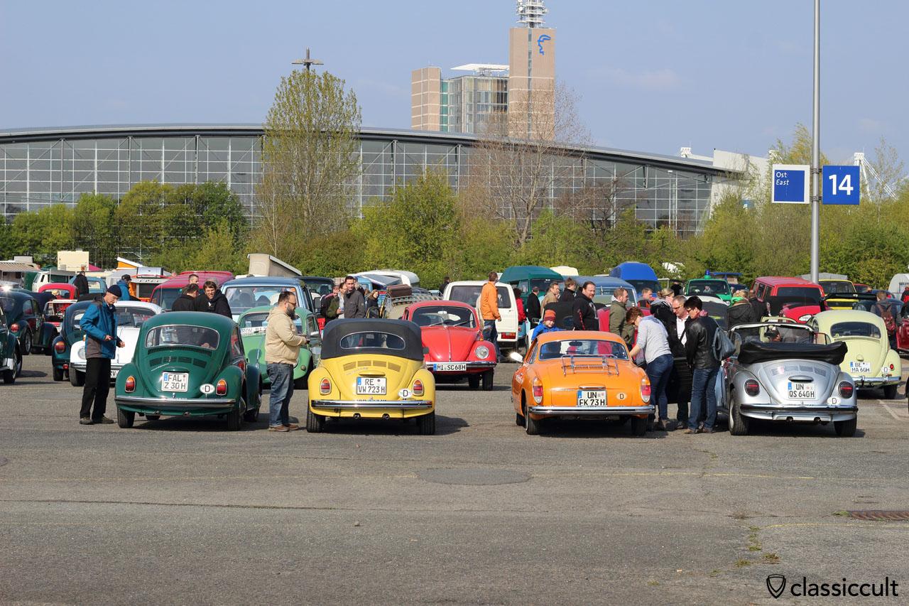 1969 Beetle, 1972 1302 LS, 1973 Ghia and 1977 1303
