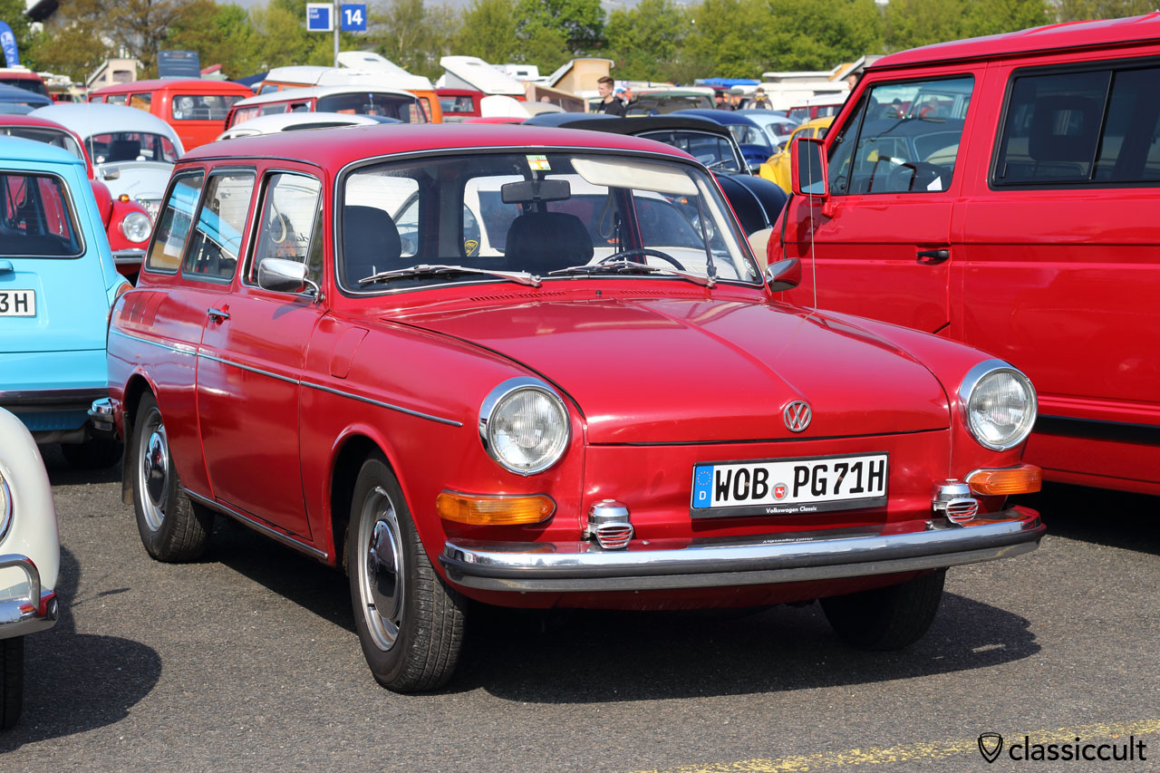 1971 VW Type 3 Squareback with Bosch fanfare horns