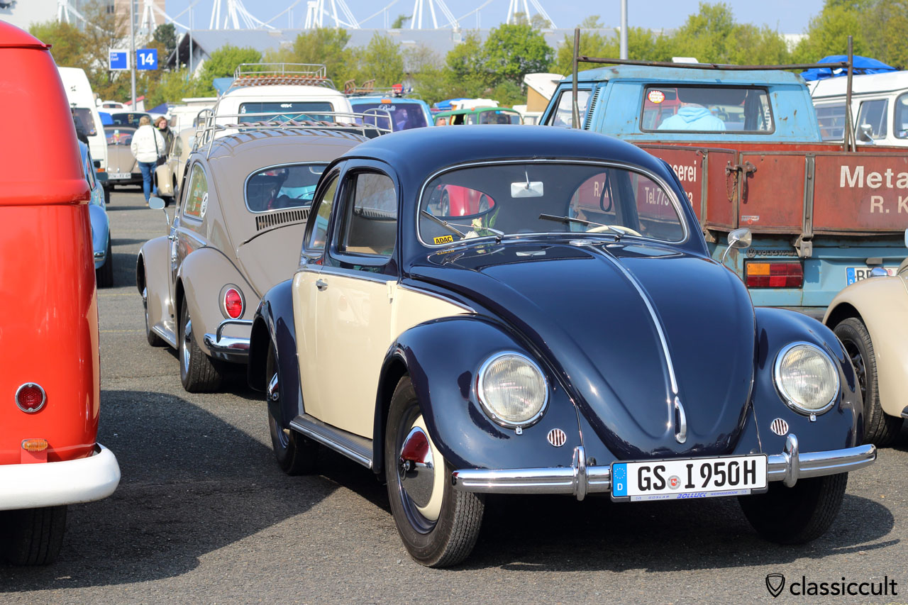1950 VW Split Window Beetle