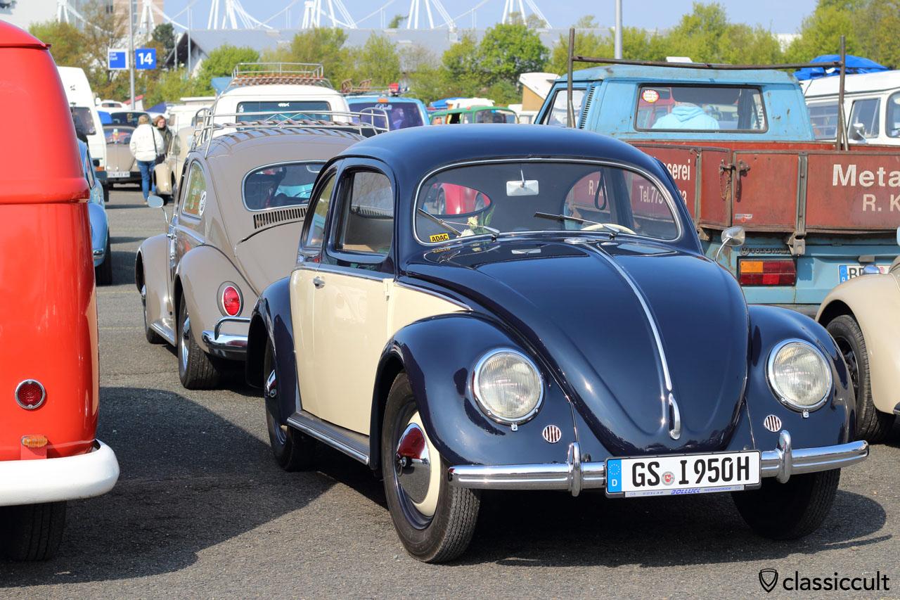 1950 VW Split Window Beetle