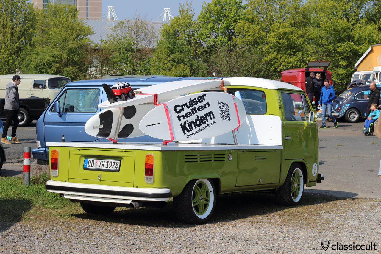 1978 VW T2 Pick up, Cruiser helfen Kindern