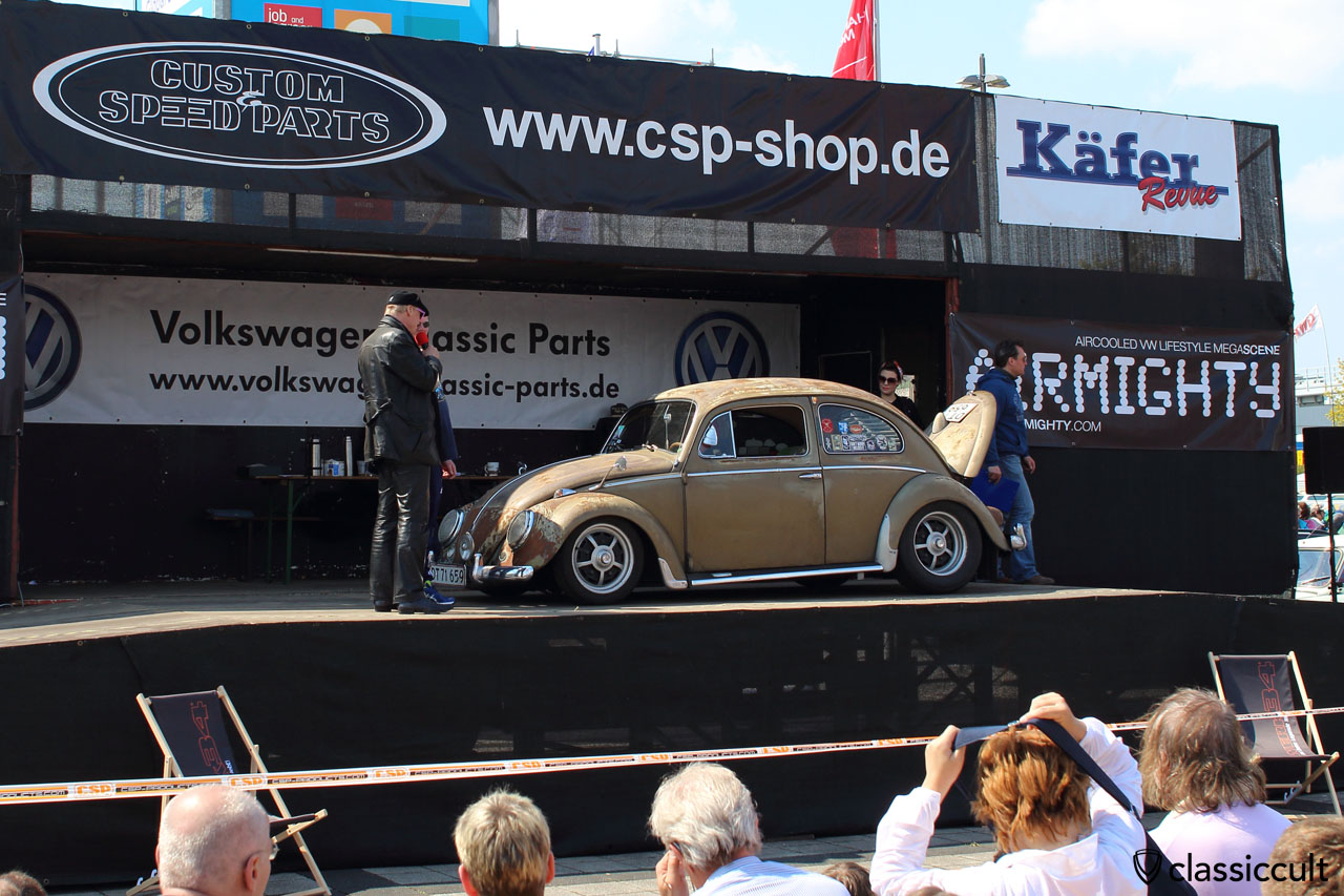low patina VW Beetle, MKT Show and Shine 2016