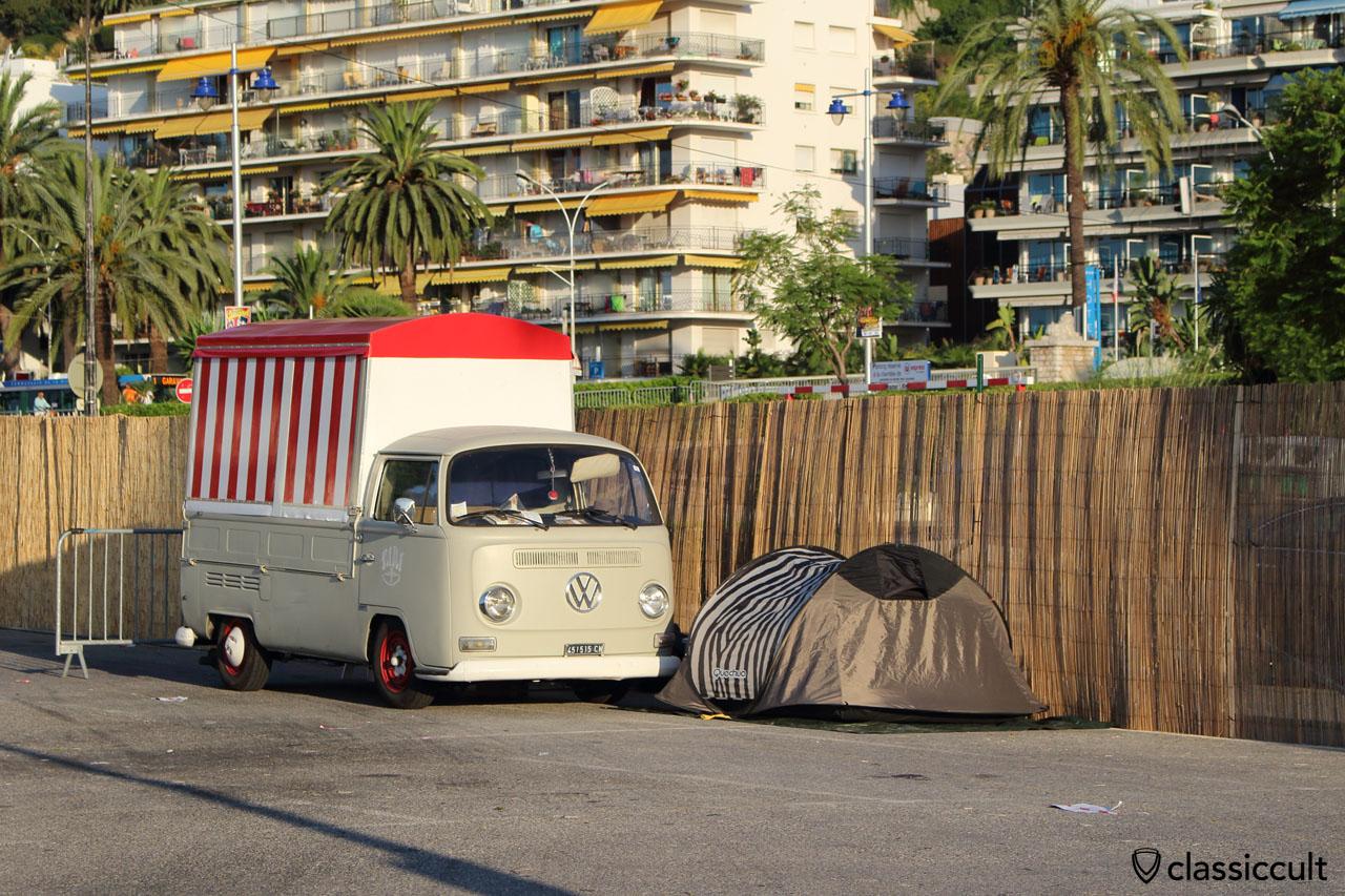 Pancake VW T2 Bus, Menton 2014