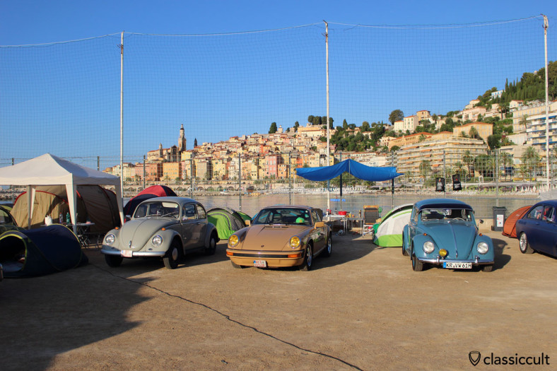 German visitors at Menton VW Show 2014